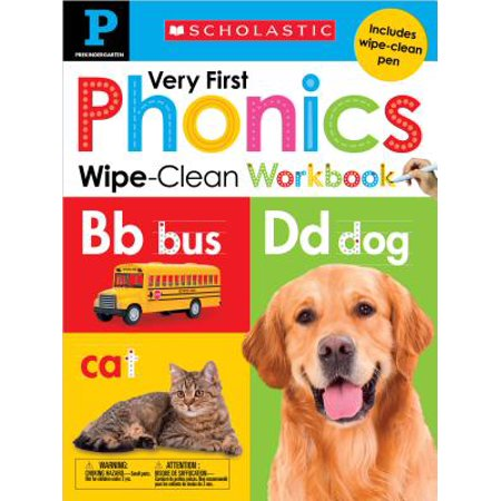 Wipe-Clean Workbook: Pre-K Very First Phonics (Scholastic Early (Driving In Other States With A Learners Permit)