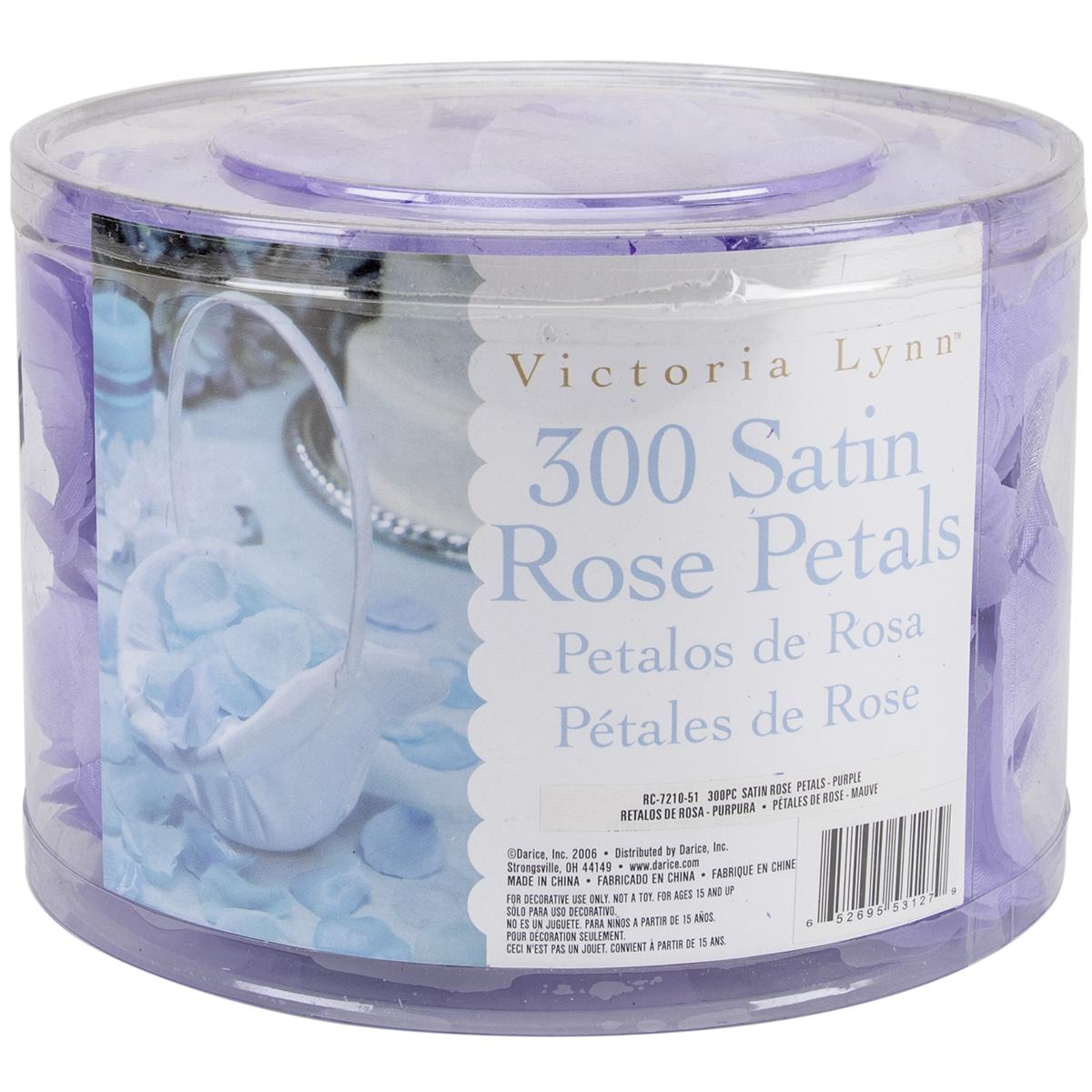 Victoria Lynn Loose Rose Petals Purple 300 Pcs Walmart