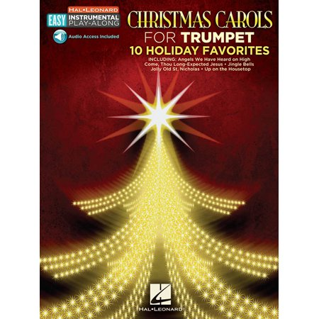 Hal Leonard Christmas Carols - Trumpet - Easy Instrumental Play-Along (Audio Online) [Sheet music]