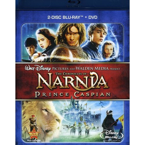 The Chronicles of Narnia: Prince Caspian (2 Disc Blu-ray + DVD)