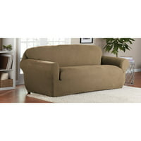 Mainstay Stretch Select Corduroy 1-Piece Sofa Slipcover