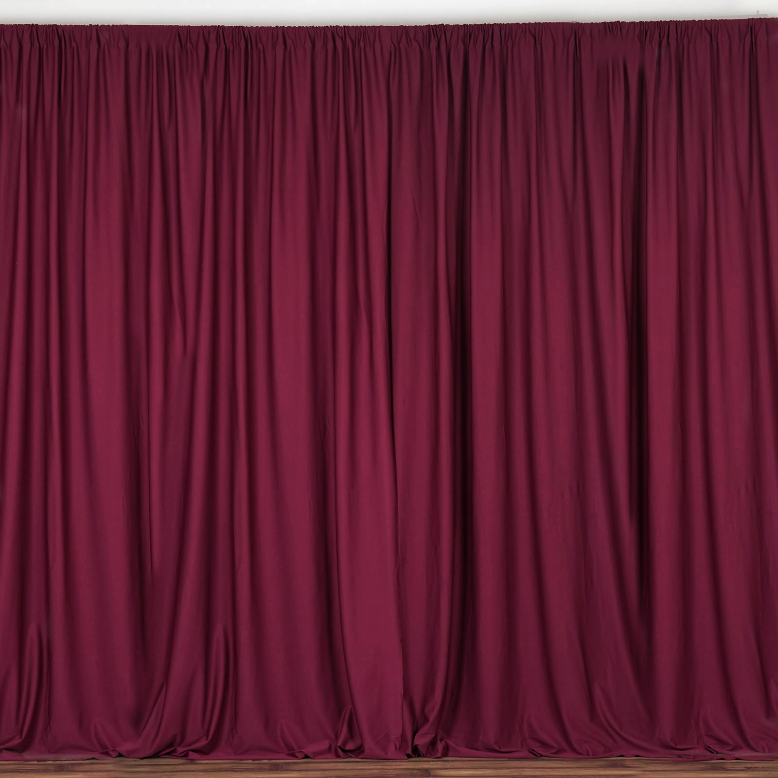 BalsaCircle 10 ft x 10 ft Polyester Professional Backdrop Curtains