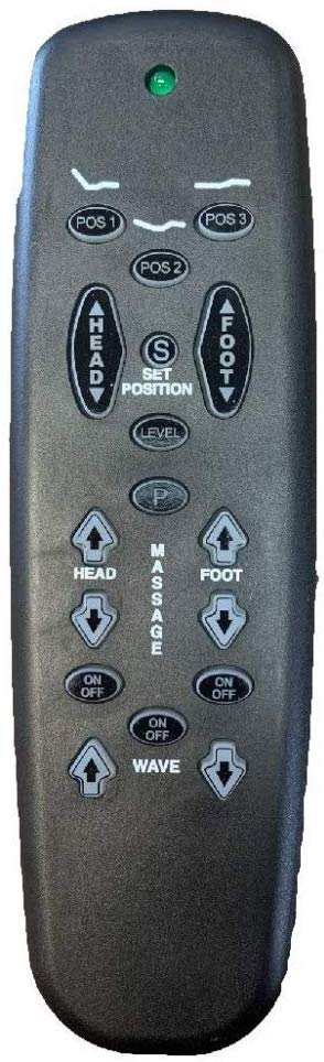 Adjusta Magic by Leggett and Platt E-90 Replacement Remote for Adjustables