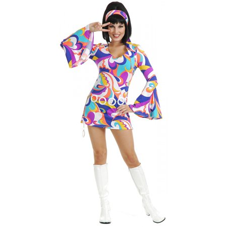 Womens Disco Hottie Halloween Costume (Vegas Costumes For Womens)