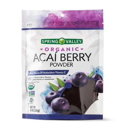 - Spring Valley Organic Acai Powder