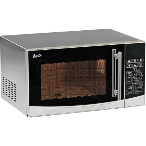 Avanti Mo1108sst 1,000-watt Counter Top Microwave Oven With Stainless Steel Finish