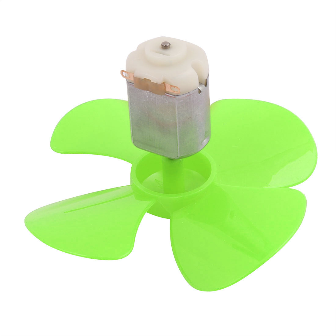5Pcs DC 6V 0.21A 13000RPM Strong Force Motor 4 Vanes Green Propeller 80mmx2mm - image 2 of 5