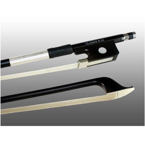 Glasser X-Series Carbon Graphite Cello Bow 4000X, 1 2 Size by Glasser