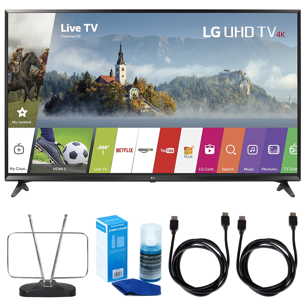 "LG 43"" Super UHD 4K HDR Smart LED TV - 43UJ6300 (2017 Mod..."