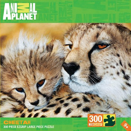 Animal Planet Cheetah 300 Piece Puzzle   Big Cats By Masterpieces Puzzle Co