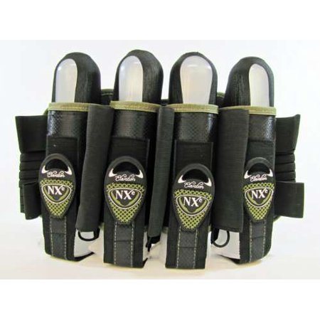 2013 Tippmann NXE Elevation Pro Pak 4+3+2 Harness Pod Pack for Paintball - Olive