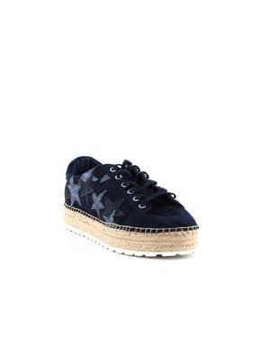 Marc Fisher LTD | Maevel Platform Sneakers | Blue | Size 8.5