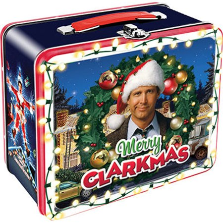 Clark Griswold Christmas Vacation.Christmas Vacation Lunch Box National Lampoon S Movie Clark Griswold Novelty