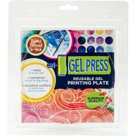 Polygel Gel Plate  6  Circle