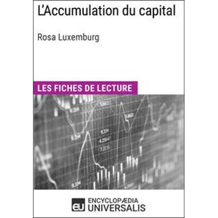 L'Accumulation du capital de Rosa Luxemburg - eBook
