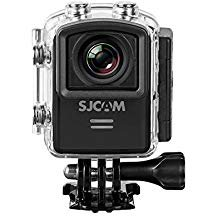 SJCAM M20 16MP Gyro Action Camera, 2 LCD Screen, 2K, 1080p at 60fps, Black