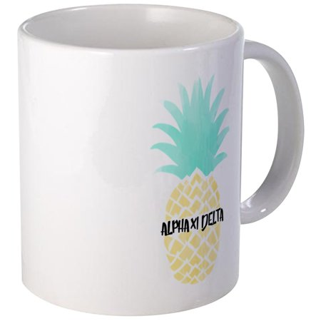 CafePress - Alpha Chi Delta Sorority Pineapple Mugs - Unique Coffee Mug, Coffee Cup