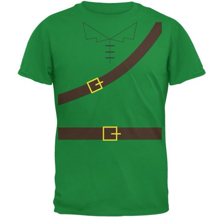 Halloween Robin Hood Costume Irish Green Adult T-Shirt (Irish Resources For Halloween)