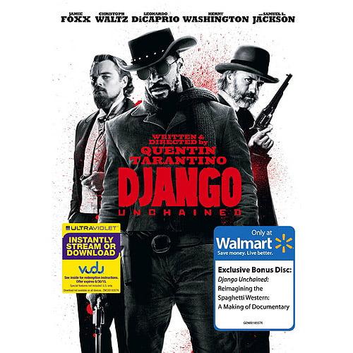 Django Unchained (DVD + VUDU Digital Copy + Bonus Disc) (Walmart Exclusive) (With INSTAWATCH) (Widescreen)