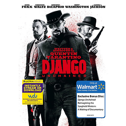 Django Unchained (DVD   VUDU Digital Copy   Bonus Disc) (Walmart Exclusive) (With INSTAWATCH) (Widescreen)