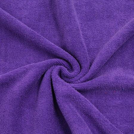 2pcs Violet Rouge Maison Voiture polissage nettoyage sèche-serviettes 33cmx65cm - image 1 de 5