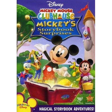 Mickey Mouse Clubhouse: Mickey's Storybook Surprises (DVD) - Mickey Mouse Old Halloween Movie