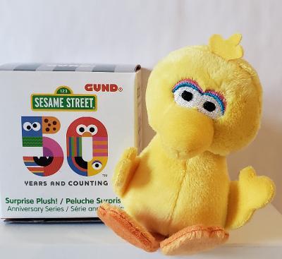 Plush Sesame Street Easter Basket Stuffed Animal Figure Party Favors Gift Set