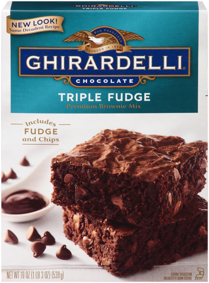 graphic about Ghirardelli Printable Coupon called Coupon ghirardelli brownie mixture : Coupon kisses