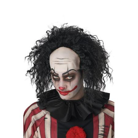 Bald Cap Costume (Clown Pattern Baldness Bald Cap Adult Wig)