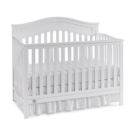 Fisher Price Aubree 4 In 1 Convertible Crib Snow White Walmartcom