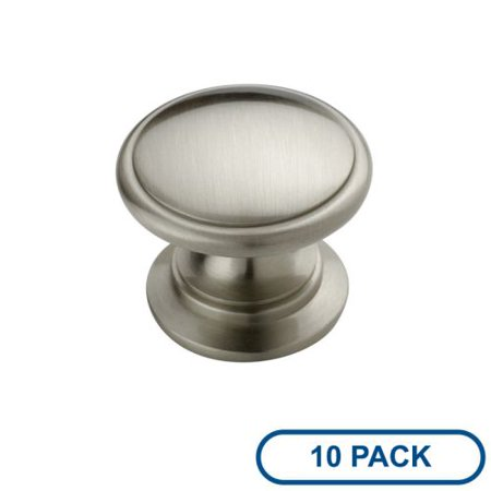 Amerock BP53012-10PACK Allison Value Hardware 1-1/4 Inch Diameter Mushroom Cabinet Knob - Package of 10 Amerock Sundara Cabinet Knob