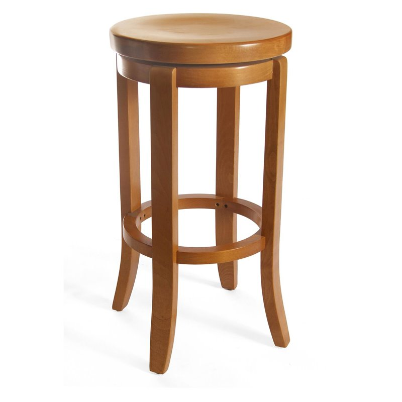 Champagne Bar Stool in Cherry