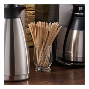 7 Inch Eco Products Wood Stirrers Solo Birch Coffee Stir Sticks Wood Stirrers 1000 Count