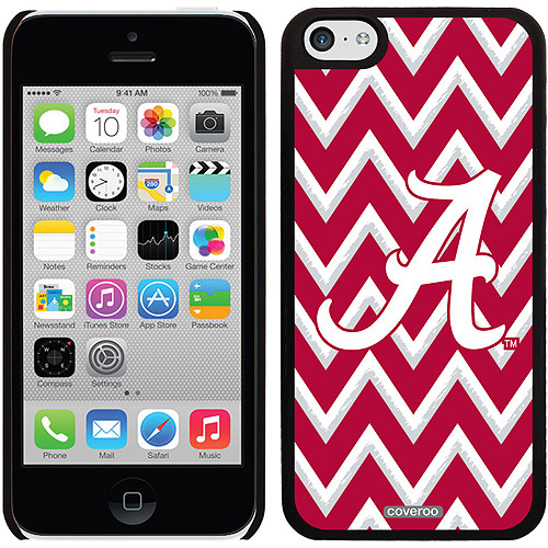 Alabama Sketchy Chevron Design on Apple iPhone 5c Thinshield Snap-On Case by Coveroo
