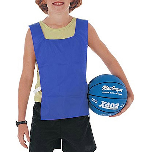 Youth-Size Nylon Pinnies, One Dozen