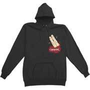 Wretched Men's  Cannibal Hooded Sweatshirt Black