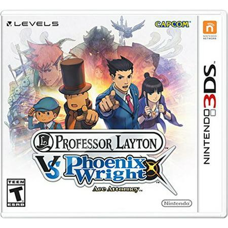 Professor Layton vs. Phoenix Wright: Ace Attorney, Nintendo, Nintendo 3DS, [Digital Download], (Professor Layton And The Lost Future Puzzle 55)