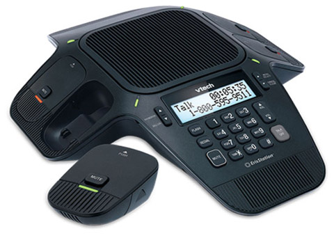 VTech ErisStation VCS704 Conference Phone with 3 Free Headsets by VTech