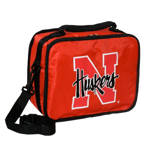 Nebraska Cornhuskers Official NCAA 10 inch  x 9 inch  x 4 inch  Lunchbreak Insulated Lunch Box Lunchbox Bag by Concept One