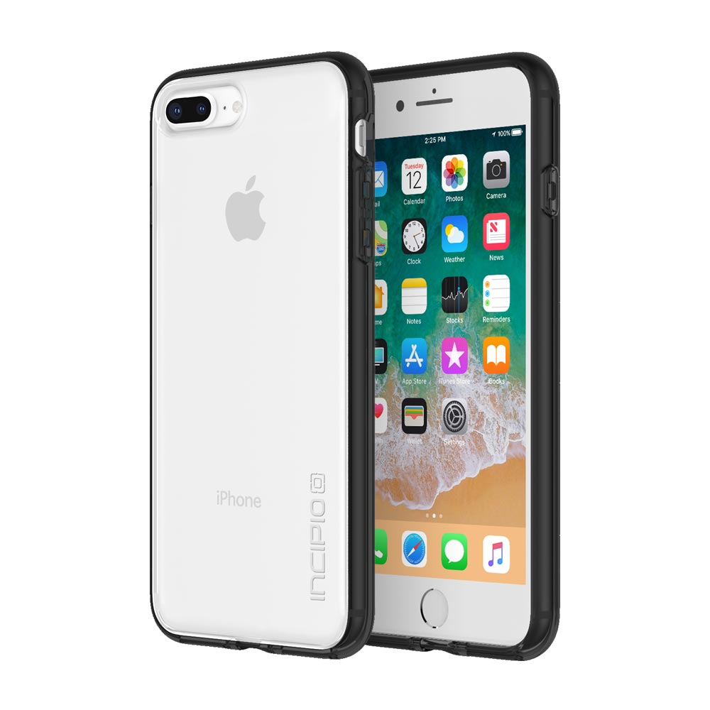 Incipio Octane Pure iPhone 8 Plus Case with Shock-Absorbing Bumper and Clear Back Shell for iPhone 8 Plus -