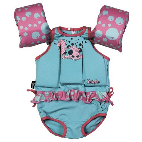 Stearns 2000012293 Puddle Jumpers, Blue and Pink Finish