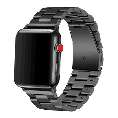 Libra Gemini Apple Watch Band 42mm 44mm Stainless Steel Metal Apple Watch Bands for Apple Watch Series 4/3/2/1(Black) Black Libra Gemini Apple Watch Band 42mm 44mm Stainless Steel Metal Apple Watch Bands for Apple Watch Series 4/3/2/1(Black) Black