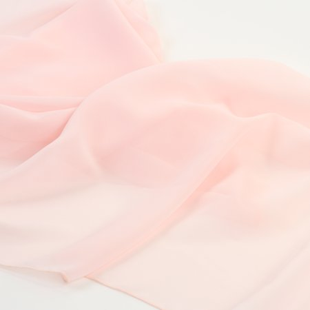 Koyal Wholesale Chiffon Table Runner 180-Inches Long, Blush Pink, Wedding Runners, Bridal Shower Long Table - Blush Pink Table Runner