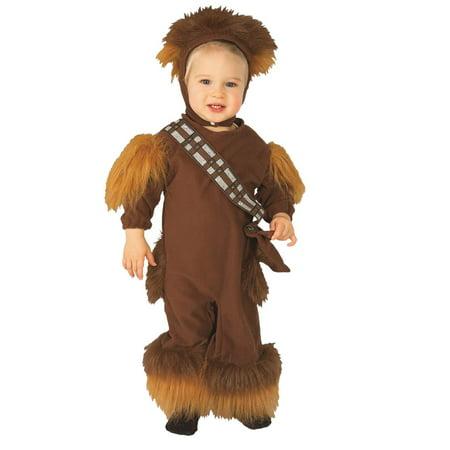 Star Wars Toddler Boys Chewbacca Costume Jumpsuit & Headpiece