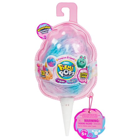 Girls Soft Plush (Pikmi pops surprise! pikmi flips, reversible scented plushie)
