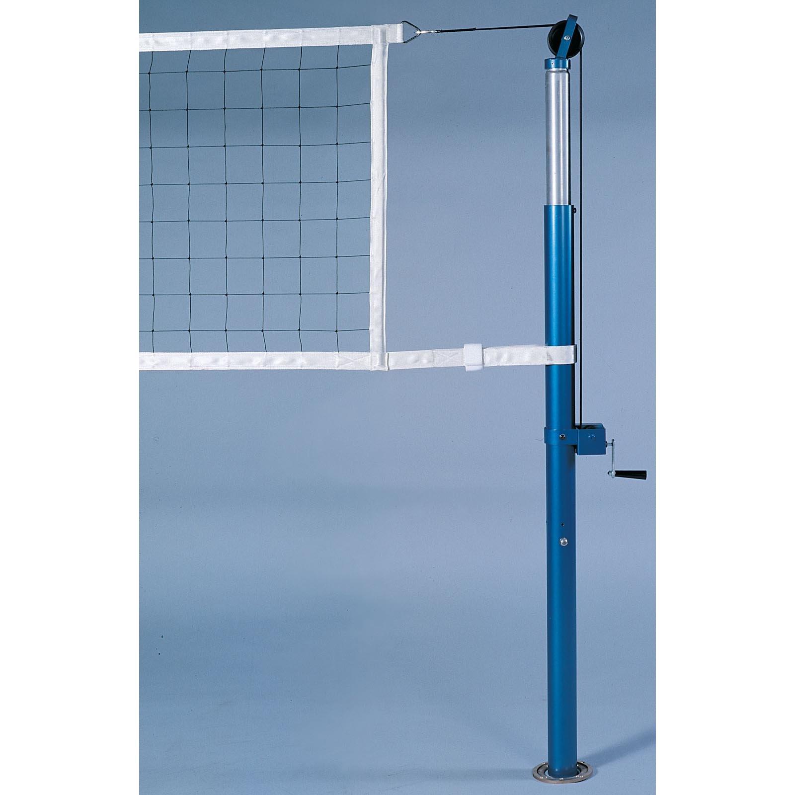 Jaypro 3.5 Inch Powerlite International Volleyball Net System