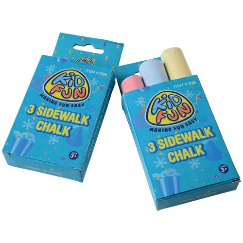 SIDEWALK CHALK BOXES, SOLD BY 8 DOZENS
