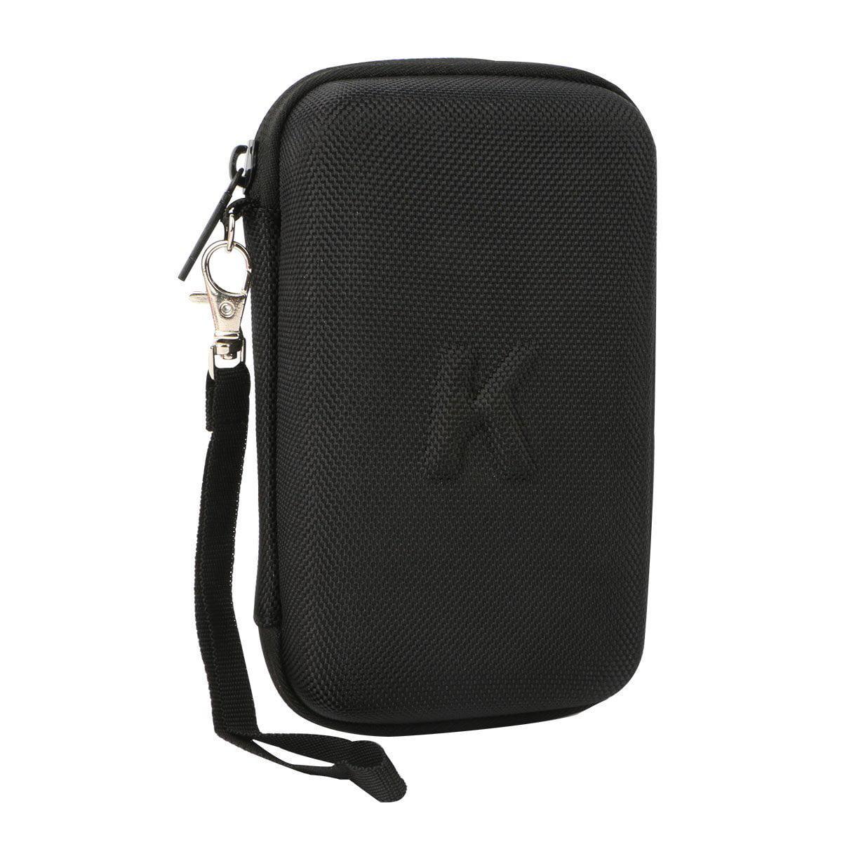 Hard Case Travel Storage Bag For Anker Astro E3 Ultra Compact 10000mah Black 10000 Portable Charger External Battery Power Bank Mesh Pocket Usb Wall Car