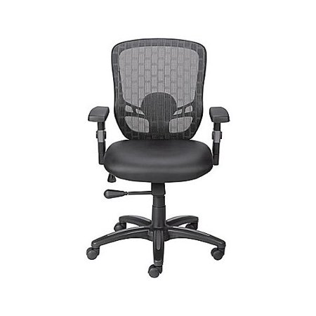 Staples Corvair Mid-Back Mesh Desk Chair ()