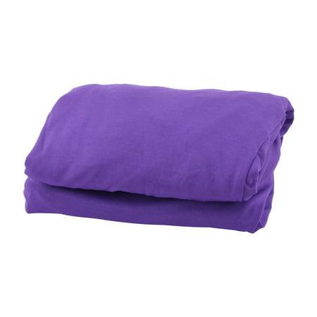 Dark Purple Wedding (Party Wedding Spandex Round 4 Legs Cocktail Table Cover Dark Purple 60cm)